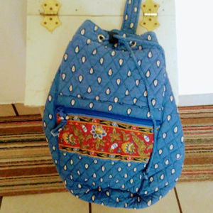 Vera Bradley Back Pack Retired  Quilt Floral